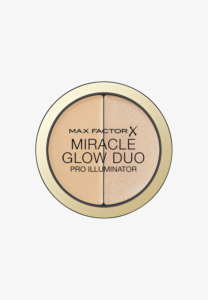 Max Factor - MIRACLE GLOW DUO HIGHLIGHTER - Highlighter - 20 medium