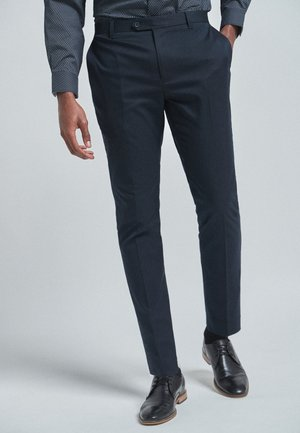 WITH STRETCH - Suit trousers - blue
