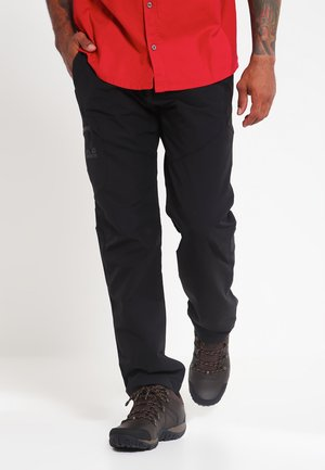 CHILLY  - Trousers - black