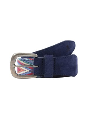 BRAIDED  - Belt - navy