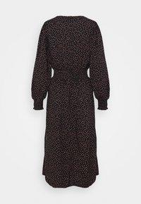 Dorothy Perkins Petite - PEACH DRESS - Day dress - black - 1