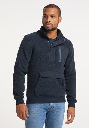 Fleece jumper - deep navy