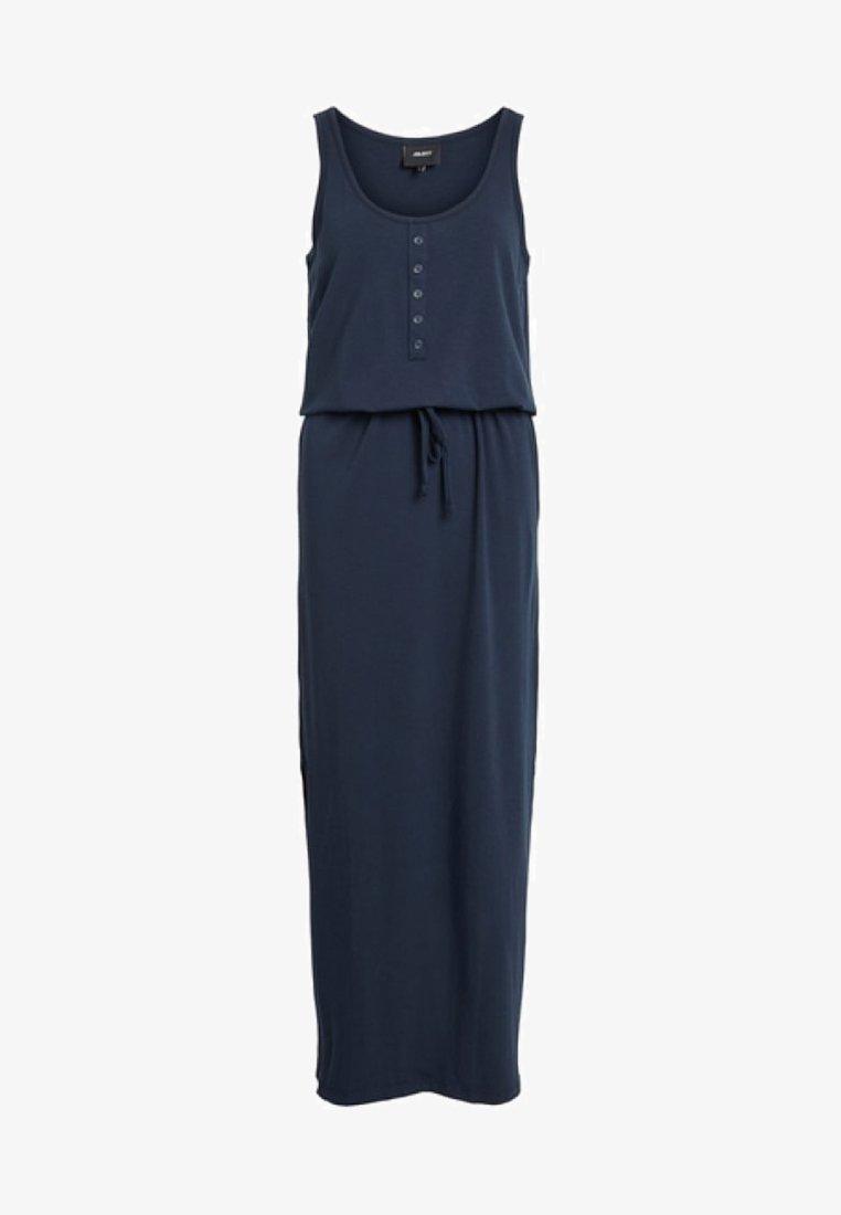 Object - OBJSTEPHANIE MAXI DRESS  - Maxi dress - dark blue