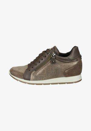 Sneakers laag - visone/braun