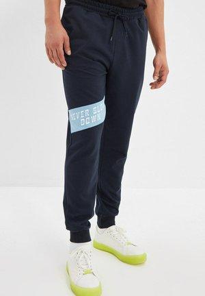 Tracksuit bottoms - navy blue