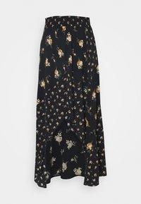 JARTRI - A-line skirt - noir/camel
