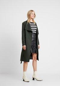 Ibana - ABBY - Leather skirt - black - 1