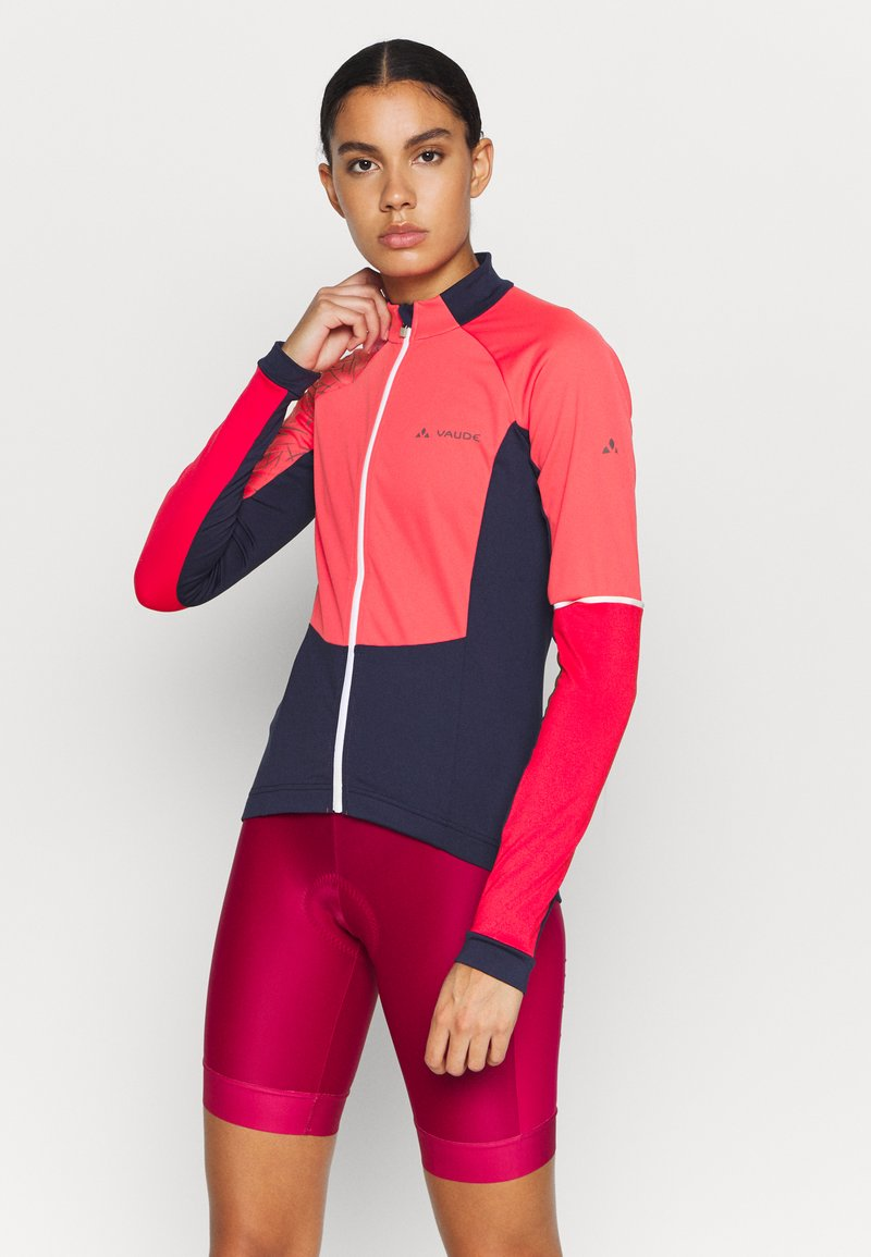 Vaude - WOMENS RESCA WIND TRICOT - Long sleeved top - bright pink
