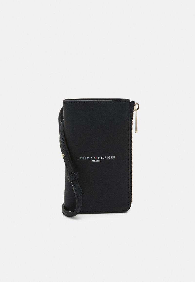 Tommy Hilfiger - PHONE WALLET - Phone case - black