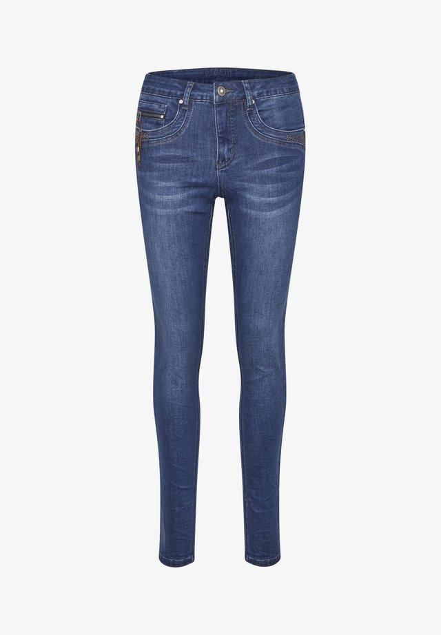Slim fit jeans - indigo blue denim