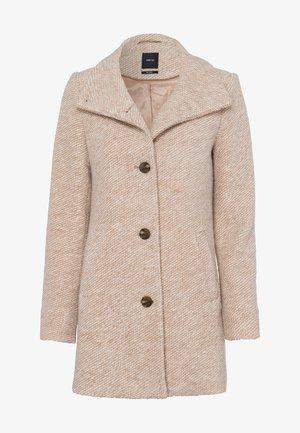Short coat - camel-mel