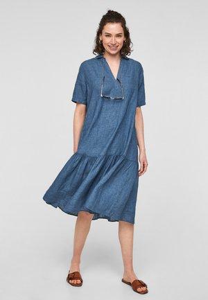 Day dress - faded blue melange