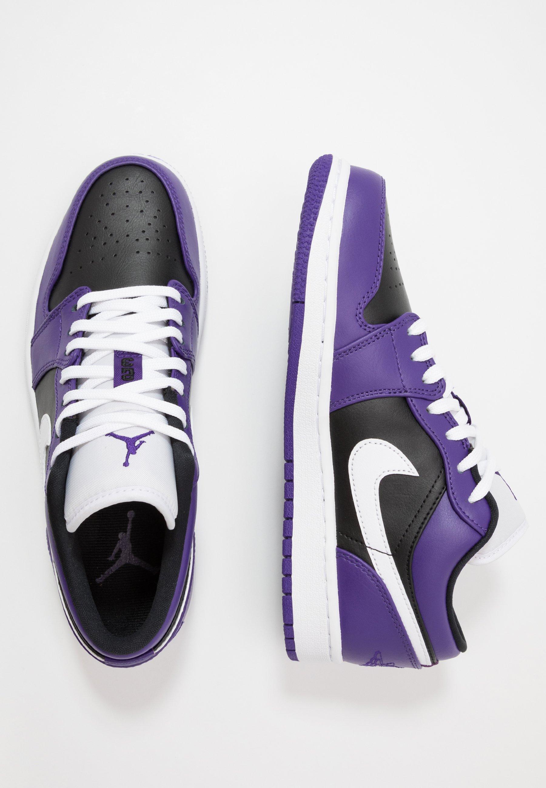 Sneakers basse - court purple/white/black