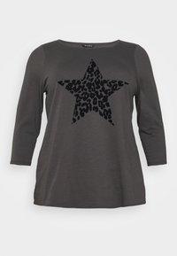 Evans - ANIMAL TEE - Long sleeved top - grey - 4