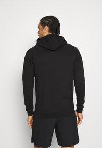 Hummel - ASTRALIS ZIP HOODIE - Zip-up sweatshirt - black - 2