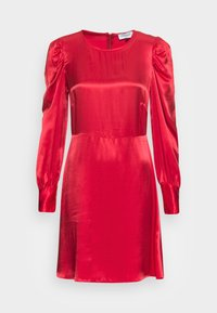 Closet - CLOSET LONDON PUFF SLEEVE DRESS - Cocktail dress / Party dress - rust - 3