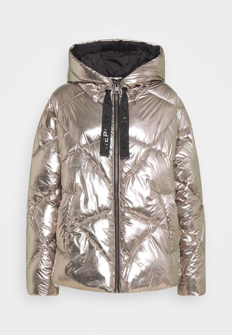Replay - OUTERWEAR - Winter jacket - dark silver
