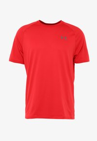 Under Armour - HEATGEAR TECH  - T-shirts print - red/graphite - 4