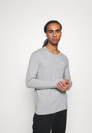 CHROMIA - Long sleeved top - light middle grey melange