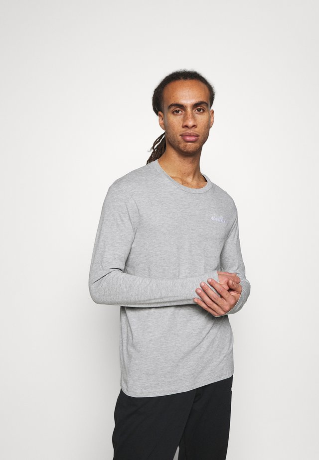 CHROMIA - Maglietta a manica lunga - light middle grey melange