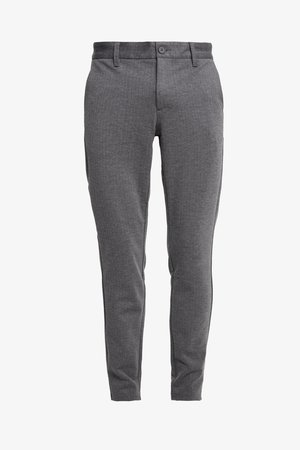 ONSMARK PANT STRIPE - Bukser - medium grey melange