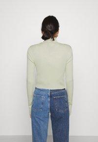 Monki - Cardigan - green dusty light - 2