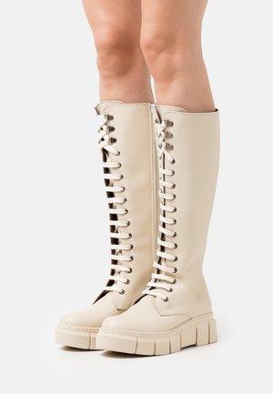 FUNTER - Šněrovací vysoké boty - tamesis ibory