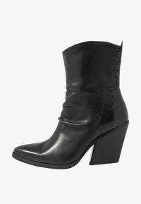 Felmini - MARGARET - Cowboy/biker ankle boot - belga black - 1