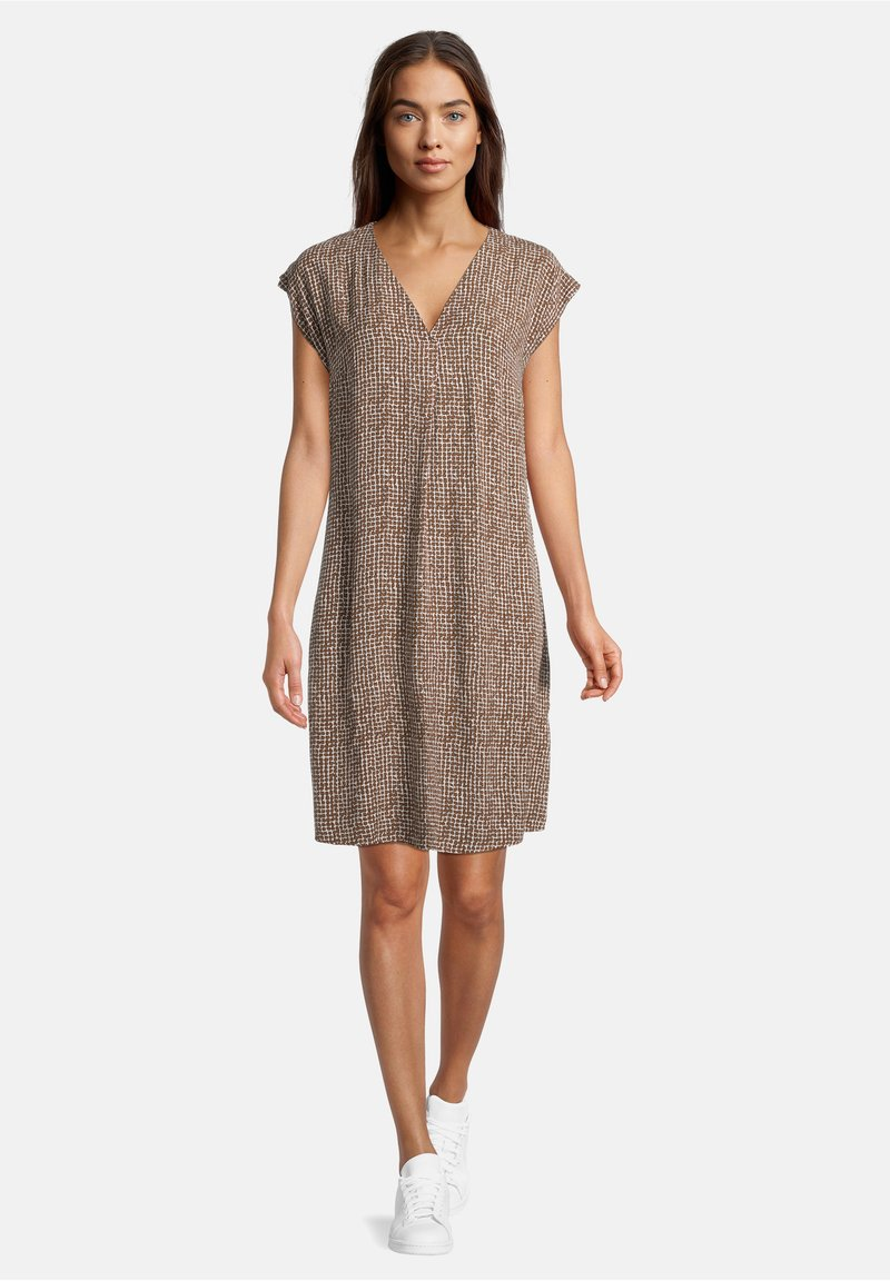 Betty & Co - Day dress - weiß/braun