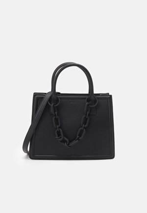 GALOASSI - Shopping bag - jet black