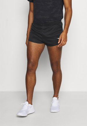RACE SHORTS TEAM UP - kurze Sporthose - black