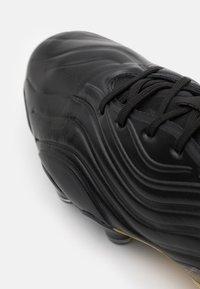 adidas Performance - COPA SENSE.1 FG - Scarpe da calcetto con tacchetti - core black/footwear white/gold metallic - 5