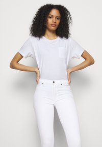 7 for all mankind - Jeans Skinny Fit - white - 3