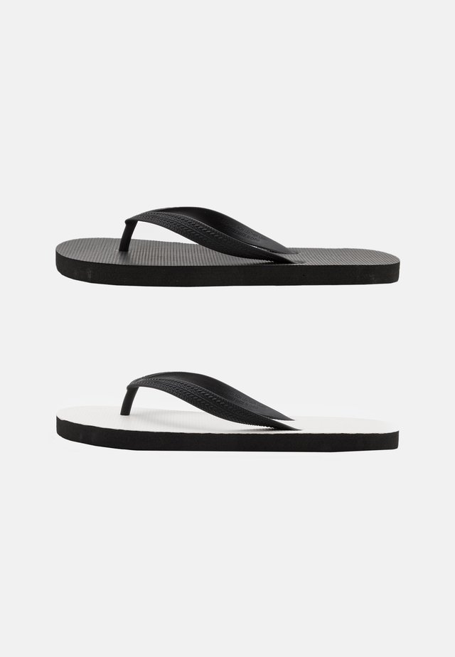 2 PACK RECYCLED - Japonki - white/black