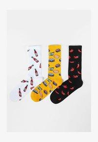 Bershka - 3 PACK - Socks - multi-coloured - 2