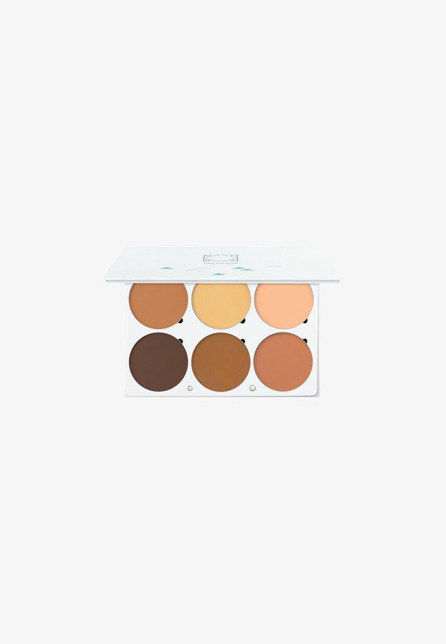 PRO PALETTE - Palette fard à paupière - contouring highlighting palette