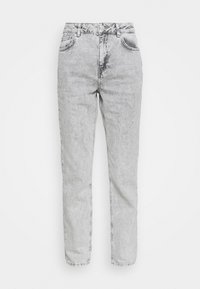 NMISABEL TAPERED MOM  - Džíny Relaxed Fit - light grey