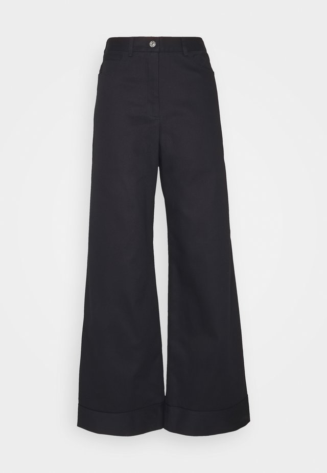 HARVEY - Broek - navy