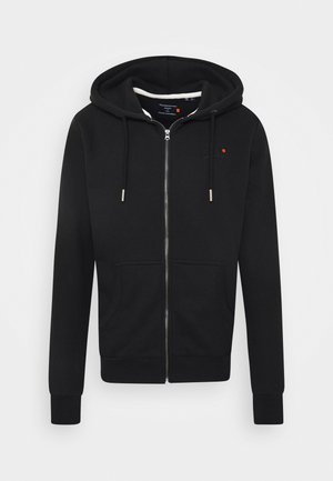 CLASSIC ZIPHOOD - veste en sweat zippée - black