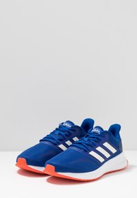 adidas Performance - RUNFALCON - Zapatillas de running neutras - collegiate royal /cloud white /active orange - 2
