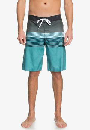 KUSECK - Swimming shorts - teal