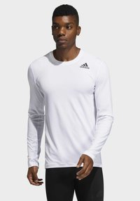 adidas Performance - Long sleeved top - white - 0