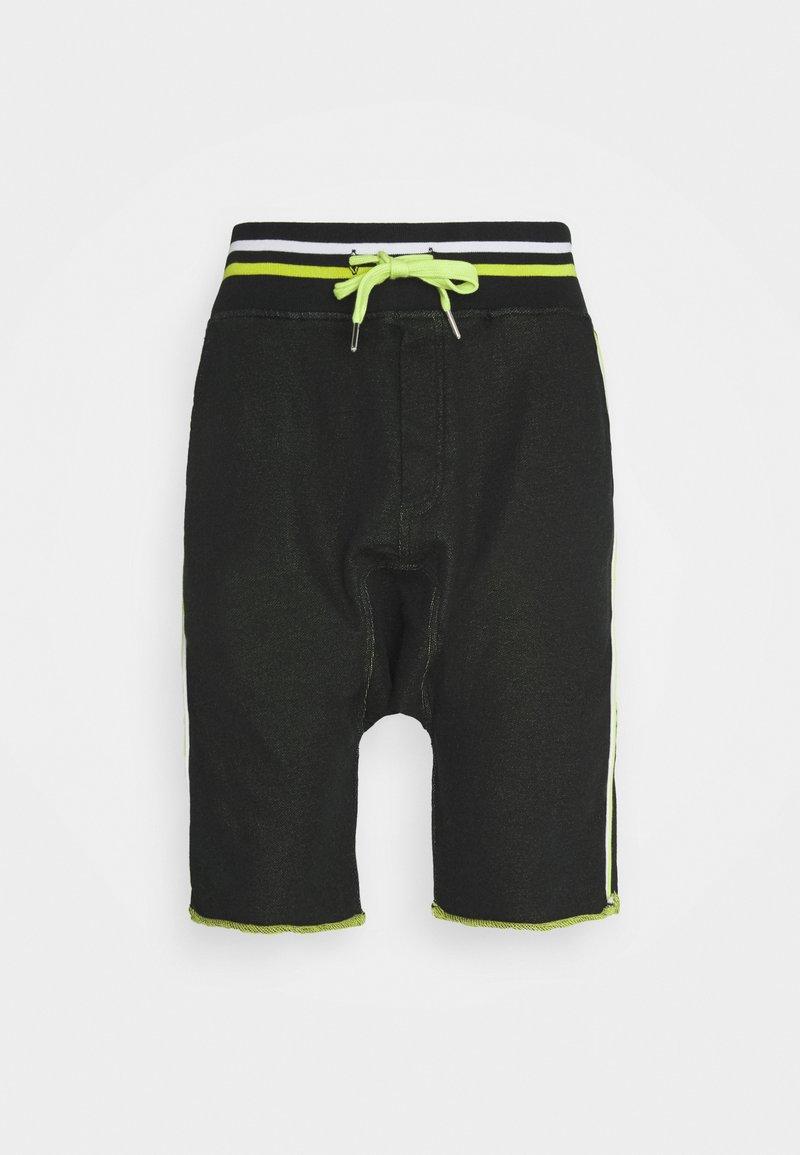 Schott - Shorts - matrix black/green/white