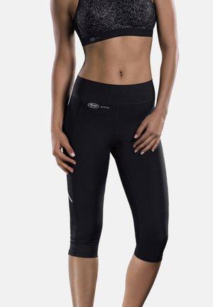 CAPRI  FITNESS - 3/4 sports trousers - schwarz
