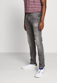Replay - ANBASS AGED - Jeans Skinny Fit - medium grey - 0