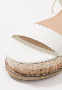 Koi Footwear - VEGAN FAN - Platform sandals - white - 2