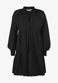 Ro&Zo - FRILL COLLAR TIERED - Day dress - black - 2