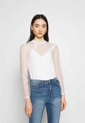 TAPLU - Camiseta de manga larga - offwhite