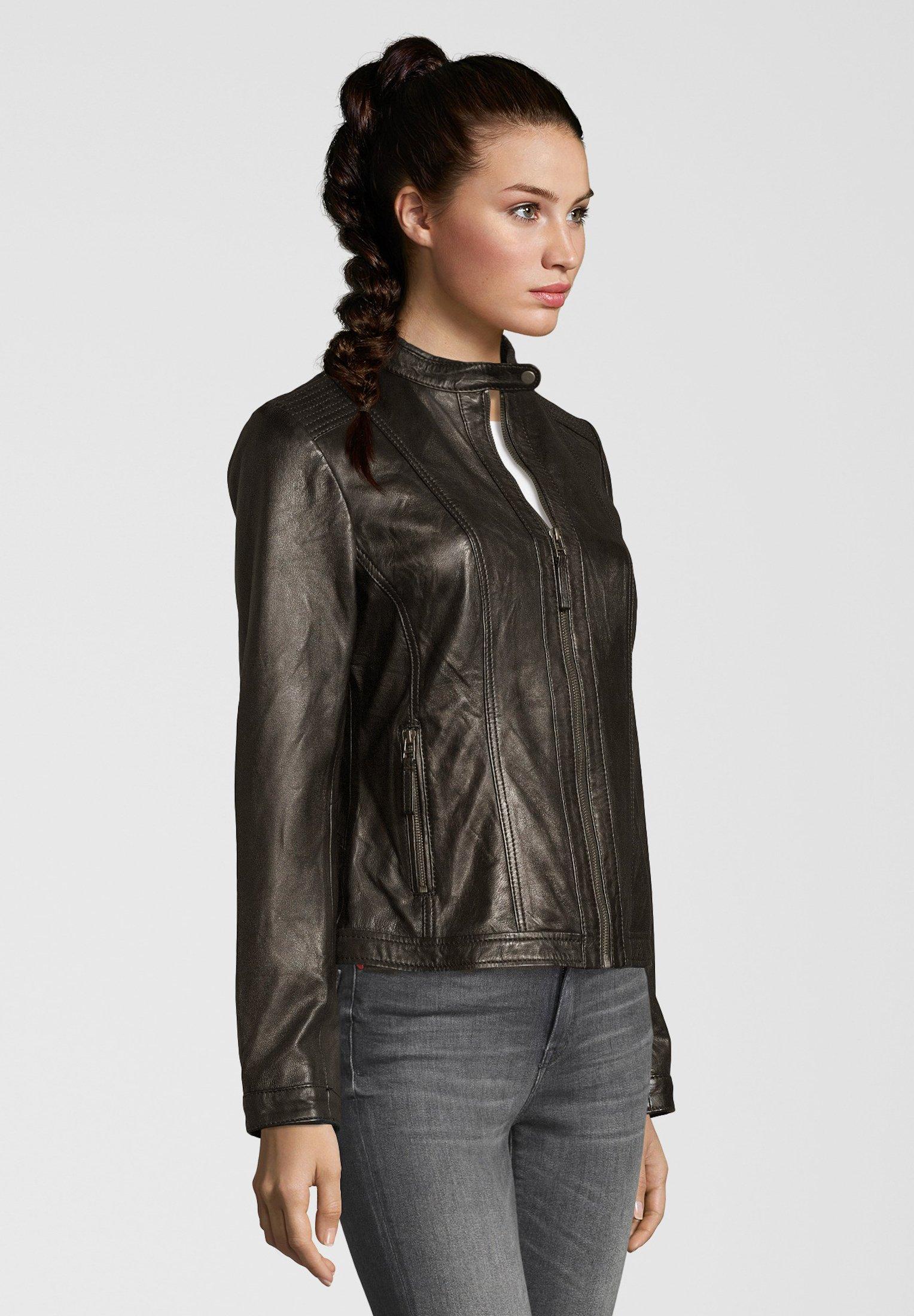 Femme URSEL - Veste en cuir