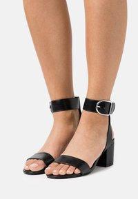 Even&Odd Wide Fit - WIDE FIT - Sandals - black - 0